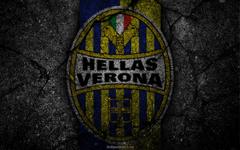 wallpapers Hellas Verona logo art Serie A soccer