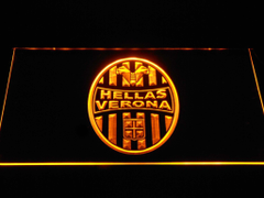 Hellas Verona F C LED Sign Vintagily