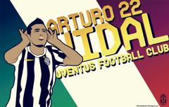 Arturo Vidal Juventus Funny Cartoon Serie A Italy Hd Desktop