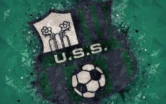 wallpapers Sassuolo FC 4k Italian football club creative