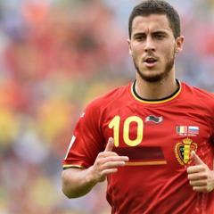 wallpapers Eden Hazard 4k footballer Belgium national