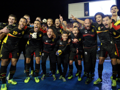 Belgium s footballers catch nationalists offside as team goes