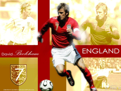 David Beckham England Team Wallpapers for Mac