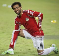 Egypt s national football team player Mohammed Salah who also