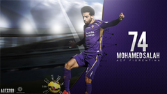 Mohamed Salah Fiorentina Wallpapers