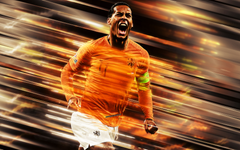 wallpapers Virgil van Dijk Netherlands national football