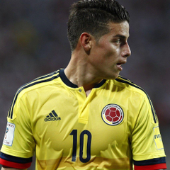 wallpapers James Rodriguez 4k soccer Colombian