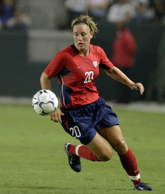 Abby Wambach the best female soccer player in the world