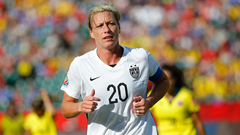 Abby Wambach wonders if referee was out to get United States in win