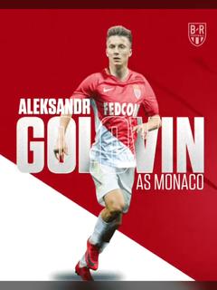 A S Monaco s Aleksander Golovin Credit To brfootball On Twitter