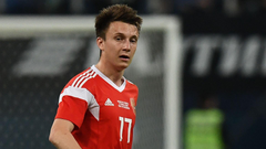Golovin s father hints at Arsenal move as Russia star shines in