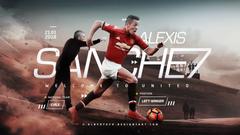 Alexis Sanchez 7 Manchester United Wallpapers HD