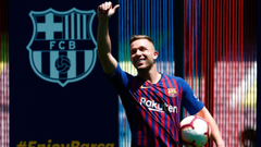 Neymar helped convince Arthur Melo to sign for Barcelona