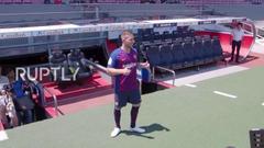 Spain FC Barcelona sign Brazilian midfielder Arthur Melo