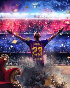 King Arturo Vidal goes to FC Barcelona