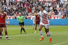 Sky Blue FC s Carli Lloyd Scores 100th Career Goal As The USA