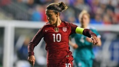 Lloyd returns to USWNT roster for South Korea friendlies
