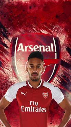 Pierre Emerick Aubameyang Arsenal iPhone Wallpapers