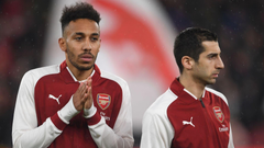 EPL Aubameyang Mkhitaryan vow to fight for Wenger