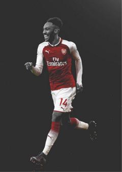 Aubameyang Arsenal Poster Photographic Paper