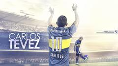 Carlos Tevez Boca Juniors Wallpapers