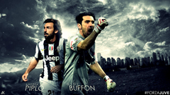Andrea Pirlo And Gigi Buffon Juventus Wallpapers