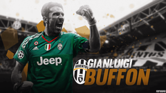 Gianluigi Buffon FootyGraphic Football lockscreens
