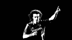 Black and White David Luiz Wallpapers chelseafc