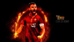 Daniele De Rossi Core de Roma Forza27
