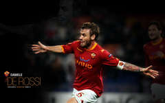 Daniele De Rossi Handsome Wallpapers As Roma Wallpapers