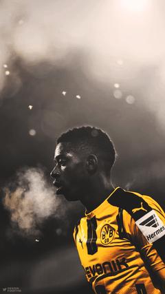 DESIGNDANIEL Ousmane Dembele Borussia Dortmund Bundesliga Football