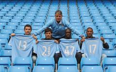 Manchester City David Silva Yaya TourAIA wallpapers