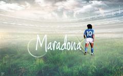 Diego Armando Maradona by beneagle