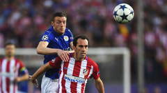 Leicester striker Vardy would get into Atletico team claims Godin