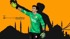 Fernando Muslera by kayadizayn