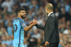Manchester City boss Pep Guardiola delighted with Sergio Aguero
