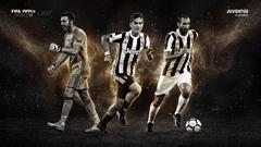 Buffon Chiellini and Dybala shortlisted for World 11 accolade
