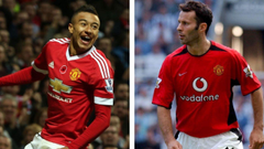 Red on Red Jesse Lingard on Ryan Giggs