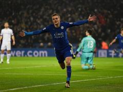 Leicester vs Chelsea match report Jamie Vardy and Riyad Mahrez on