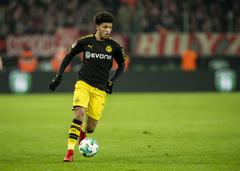 Jadon Sancho living the dream at Borussia Dortmund