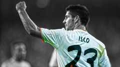 HDR photography Isco Real Madrid cutout selective coloring