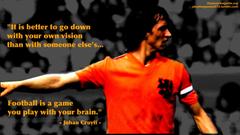 Johan Cruyff Hd Cyruff Wallpapers Holland Legend Total