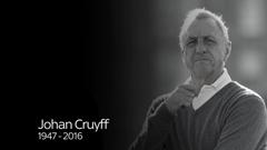 Johan Cruyff British and European newspapers pay tribute to Dutch