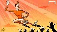 CARTOON Johan Cruyff passes away
