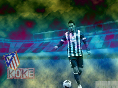Koke Football Wallpapers Backgrounds and Pictures
