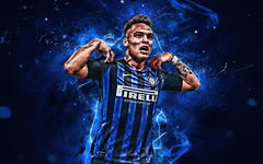 Soccer Lautaro Martínez Inter Milan Argentinian wallpapers and