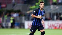 Inter Milan forward Lautaro Martinez out of Argentina friendlies