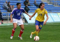 The Sport Player Lotta Schelin