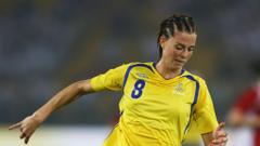 Lotta Schelin Sweden s big hope
