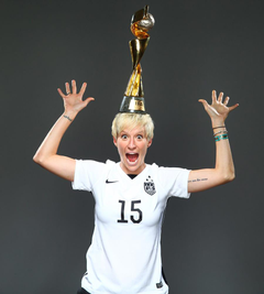 Sports Illustrated USWNT World Cup covers Megan Rapinoe outtake
